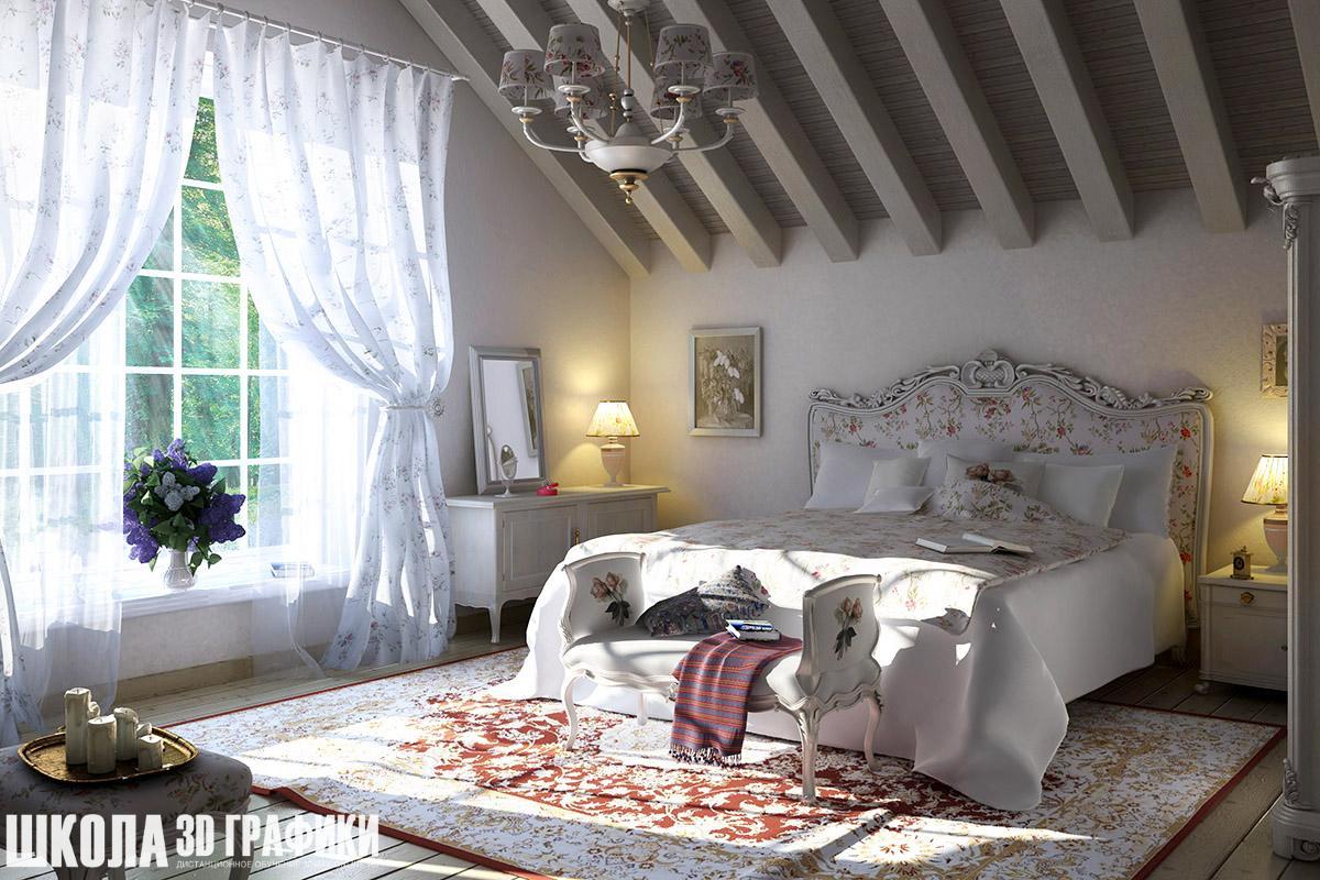 Оформление спален фото